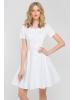 Sukienka medyczna Marilyn biała-387
