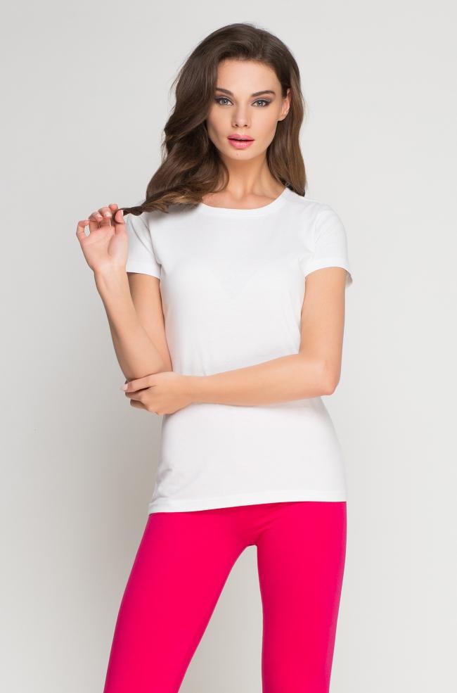 T-Shirt damski biały -260