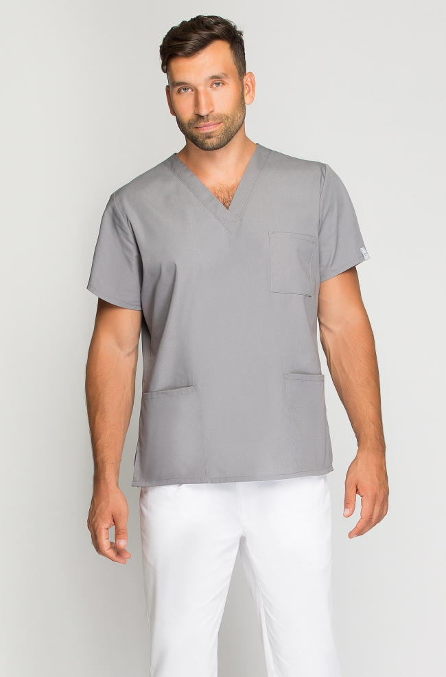 Bluza medyczna męska szara-272