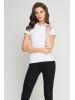 Koszulka Polo damska biała -257