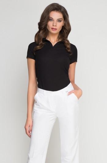 Koszulka Polo damska czarna