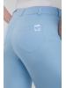 Spodnie medyczne rurki błękitne