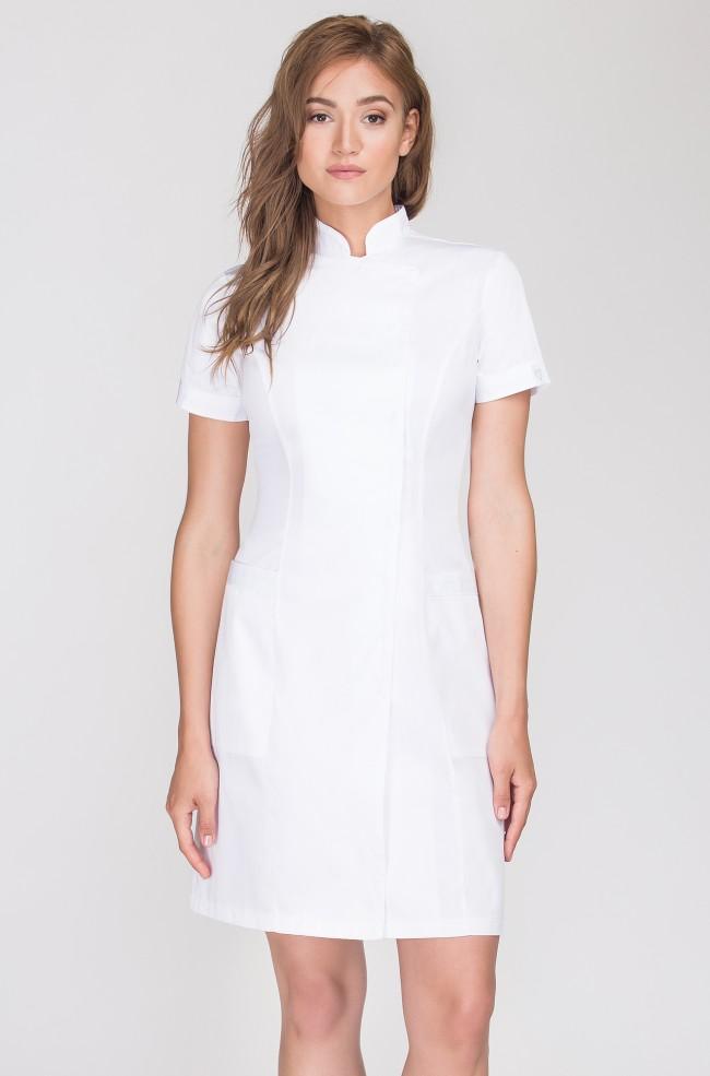 Fartuch medyczny Vena w kolorze białym