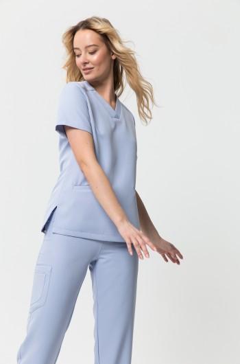 Bluza medyczna EMILY błękitna