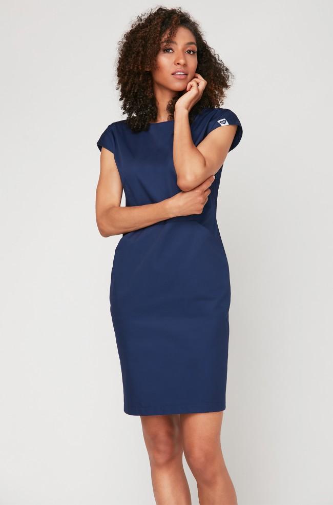 Sukienka kosmetyczna Vena Blu Marino