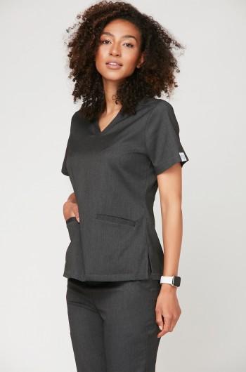 Bluza medyczna EMILY grafitowa