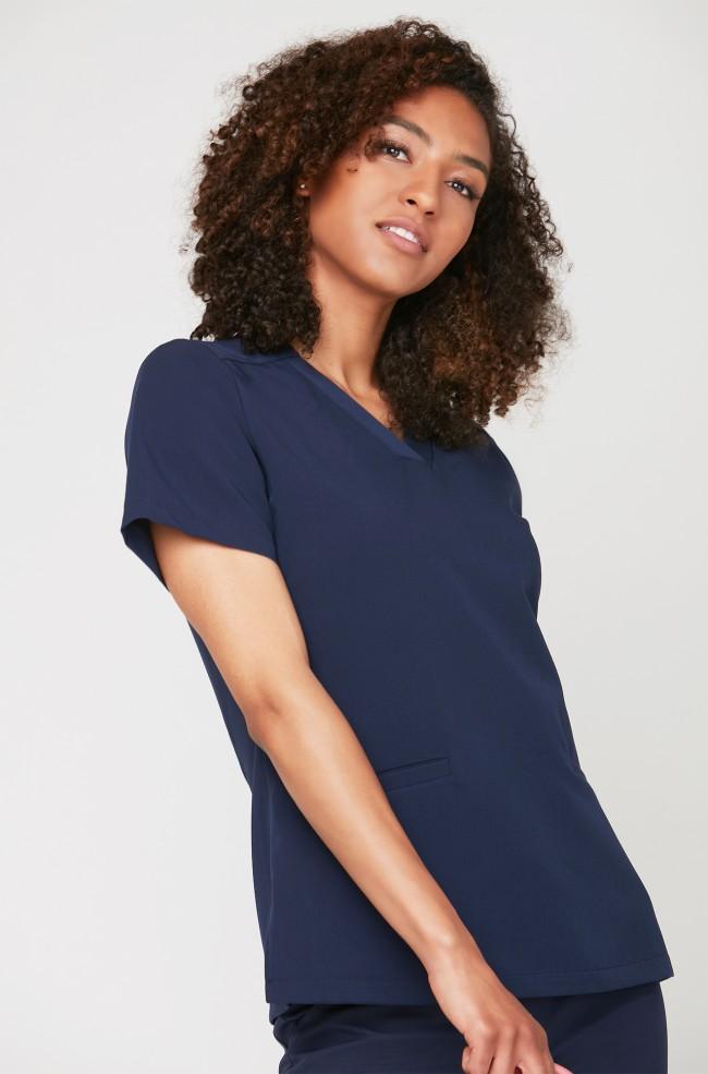 Bluza medyczna EMILY - granatowa