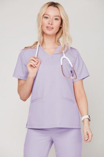 Bluza medyczna EMILY lavenda