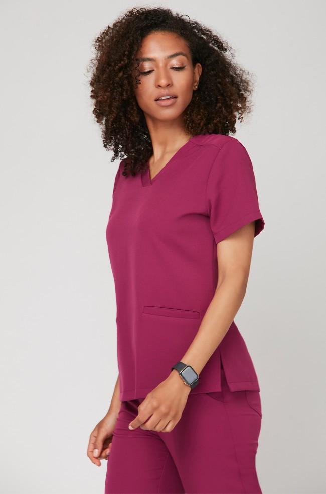 Bluza medyczna EMILY sangria